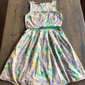 Size 7/8 FLORAL MAURICES DRESS